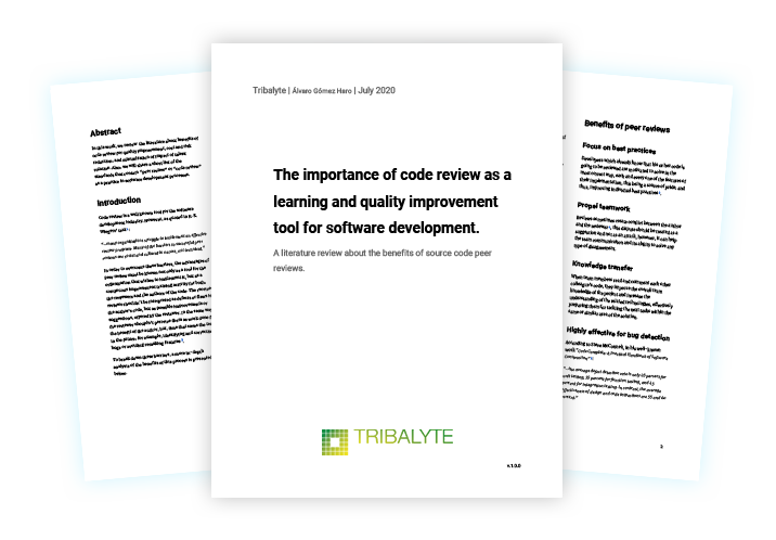 The importance of code review as a learning and quality improvement tool for software development